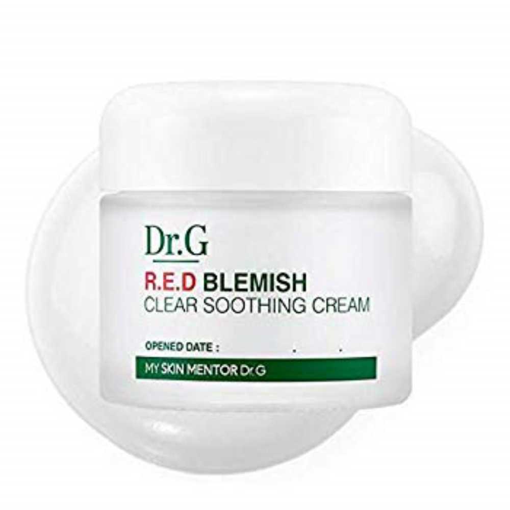 [구매대행] Dr.G R.E.D Blemish Clear Soothing Cream (70ml) 5-cica complex, 1