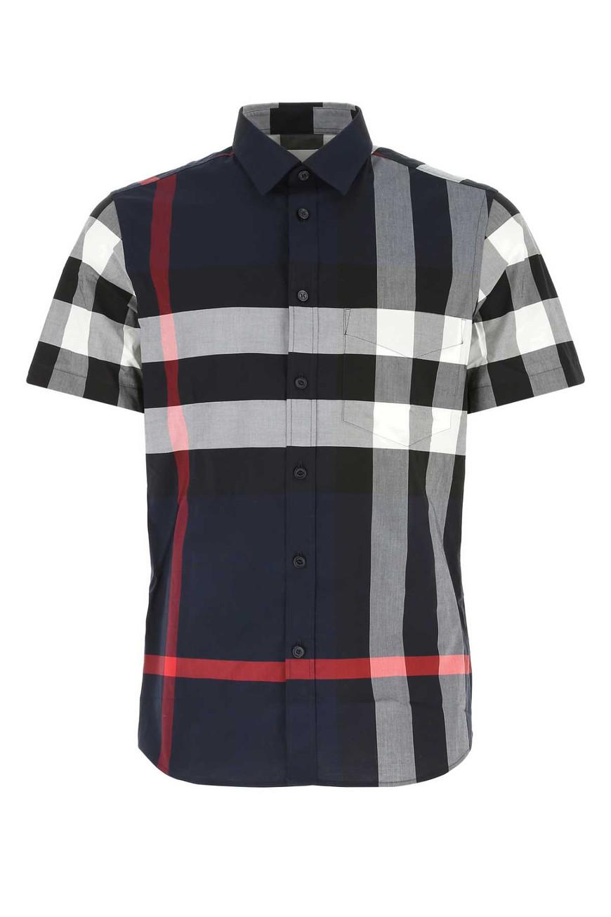 BURBERRY 엠브로이드 스트레치 포플린 셔츠 8020855 A1960-18-5505382427