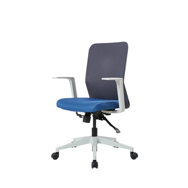 듀오백 Q1W_라이트 메쉬의자 컴퓨터의자 사무용의자 본사직영, 블루