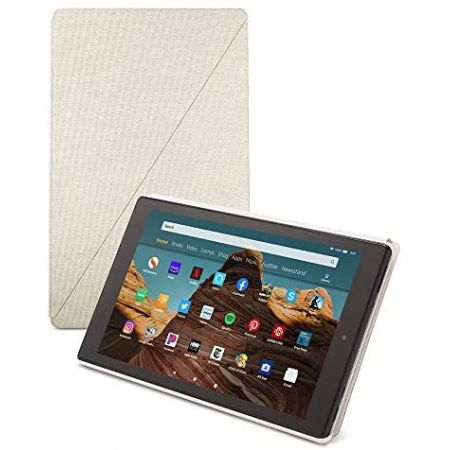 [아마존베스트]Amazon Fire HD 10 Tablet Case Sandstone White PROD5860001381, Sandstone White_One Size