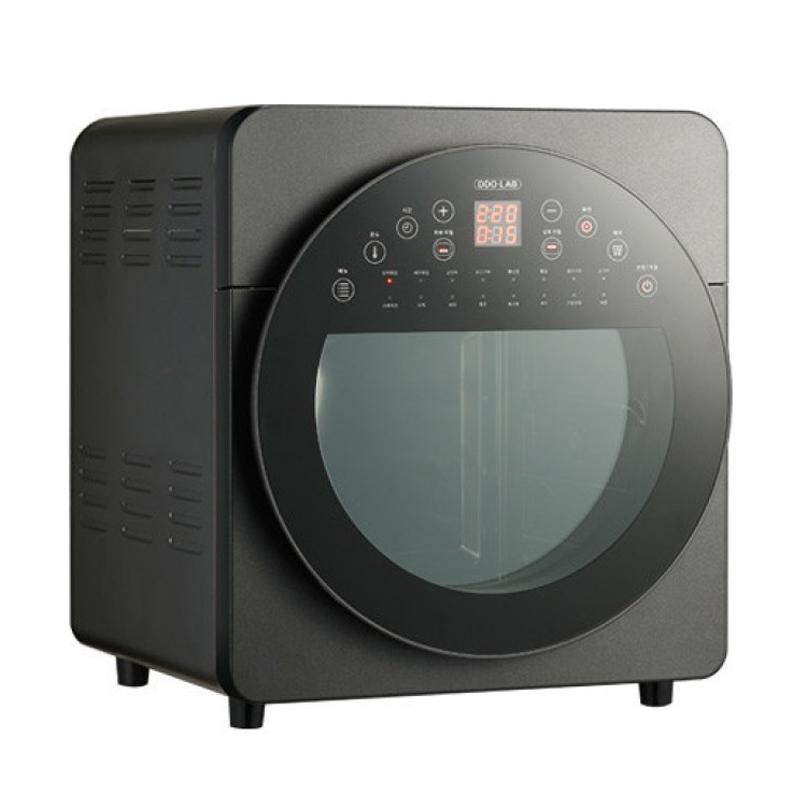 디디오랩 더블히팅 에어프라이어 14L, 블랙, DAP-I14DHB