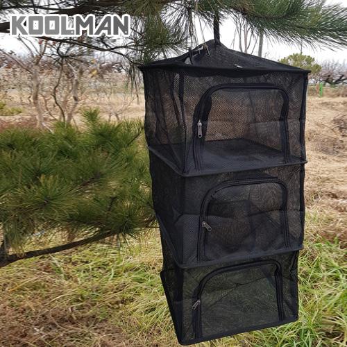 KOOLMAN(쿨맨) 다용도 캠핑 식기건조망 (고품질 메쉬), 1개, 건조망 블랙 A - 기본형