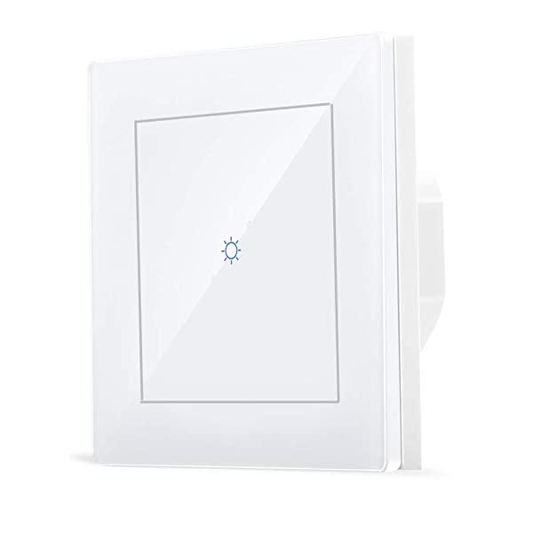 230V Smart ZigBee Single Gear Light Switch in the Wall for Echo Plus SmartThings ZigBee 3.0 Hub Bri, 단일상품