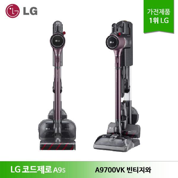 [신세계TV쇼핑][LG] 코드제로 A9S 무선청소기 A9700VK 빈티지와인, 단일상품