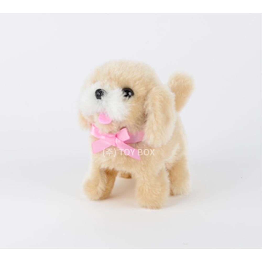4살 유아 귀여운 아기 강아지 작동인형 완구 놀이방