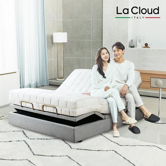 [라클라우드] 천연라텍스+이지모션침대 K 16cm