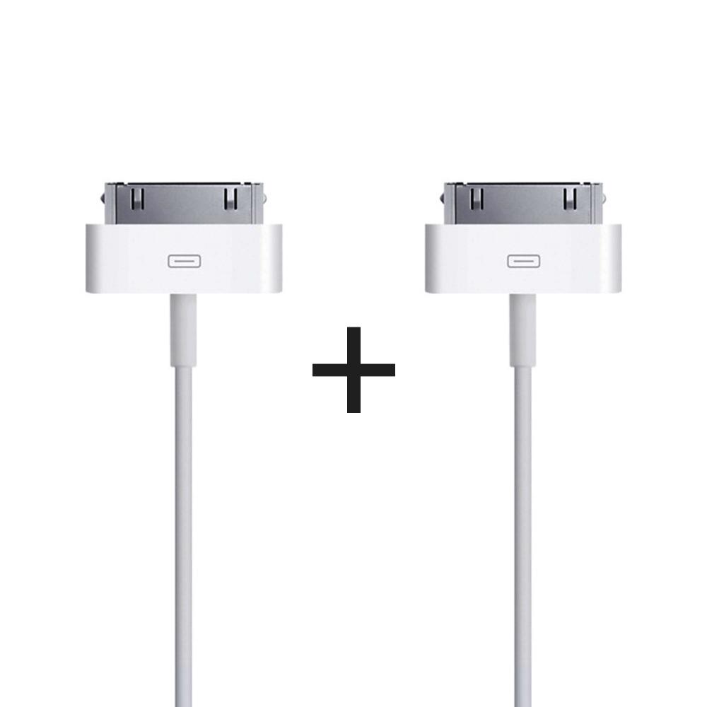 요거 1+1 30핀 케이블 1m 2개입 USB 고속 충전 데이터 선