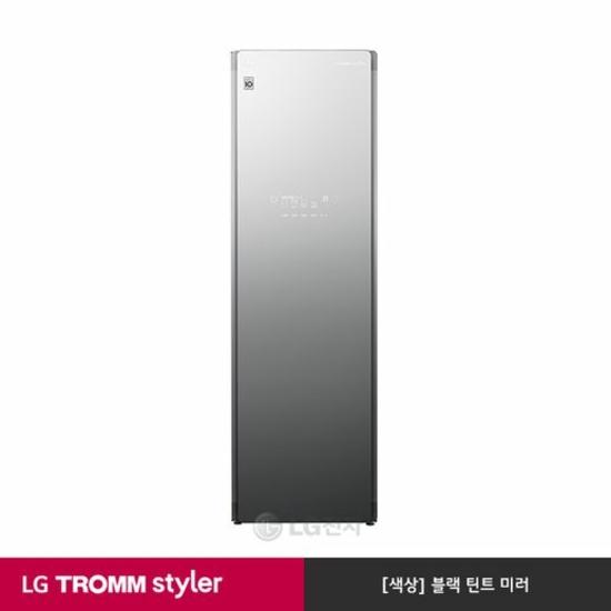 [K쇼핑][LG]TROMM 스타일러 S5MB [블랙틴트미러/최대6벌/위생살균], 단일상품