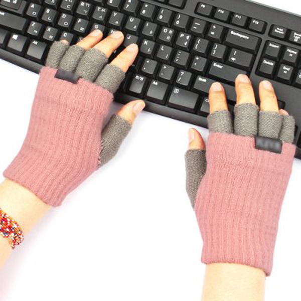 네이쳐앤팜 따뜻한 키보드장갑 니트 손가락장갑 스마트폰장갑 남녀공용