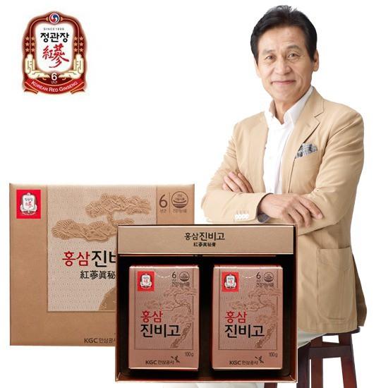 정관장 홍삼진비고 100g 2병 선물세트 없음 상세설명 참조