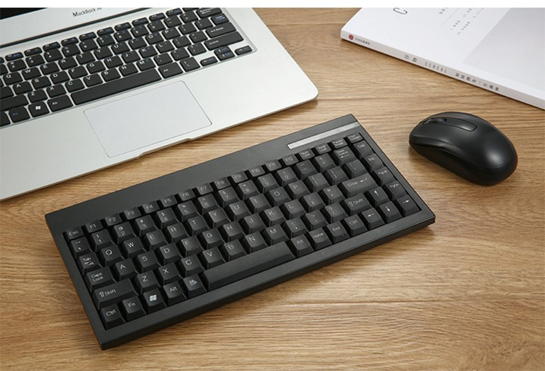 트랙볼마우스 휴대용 무선 키보드 노트북 세트포장 미니 정음 숫자 마우스 테이블식, C01-세트 1, T03-유광 색 무선 마우스 키보드 세트포장