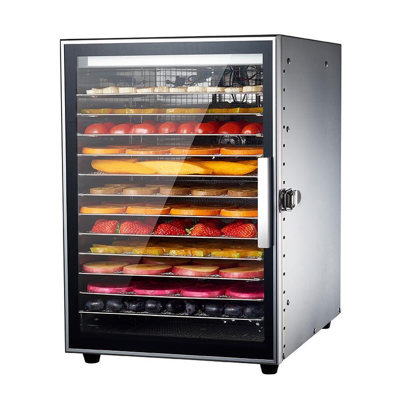 대용량 과일 건조기 식품 가정용 기계 애완 동물 식품 탈수 공기 건조기, 단일상품