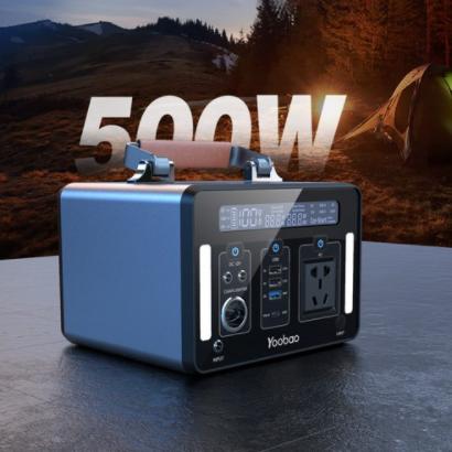Winzone Camp 캠핑 낚시 야외용 보조배터리 220V 500W 고출력 파워팽크, 그레이, Winzone Camp 500W