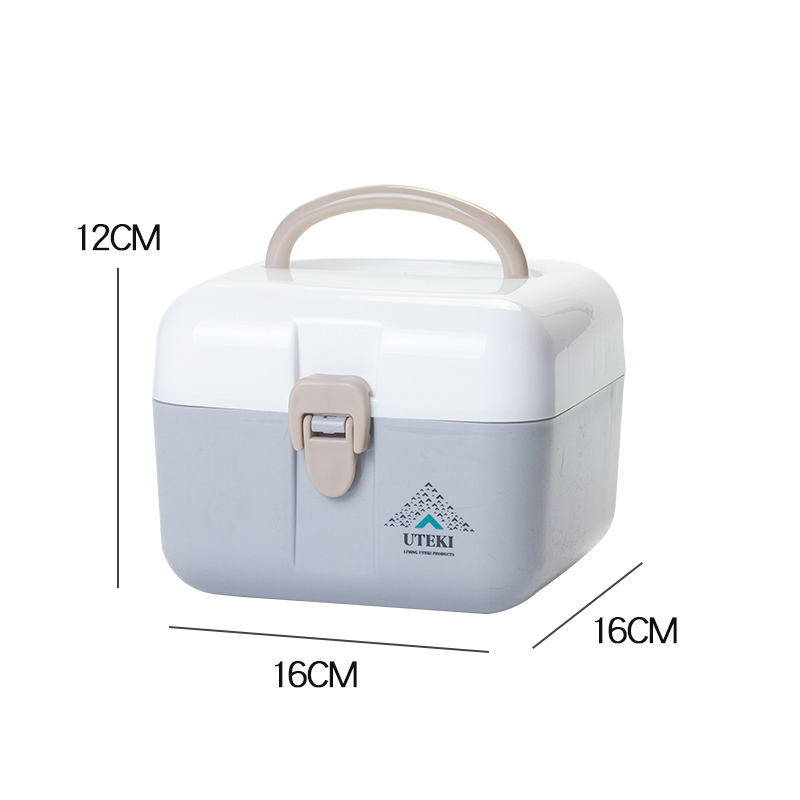other 의약함 기숙사생 소형 휴대용 의료상자 가정용 의약품 수납박스 스몰 사이즈 구급상자, 1번 (POP 4518499612)