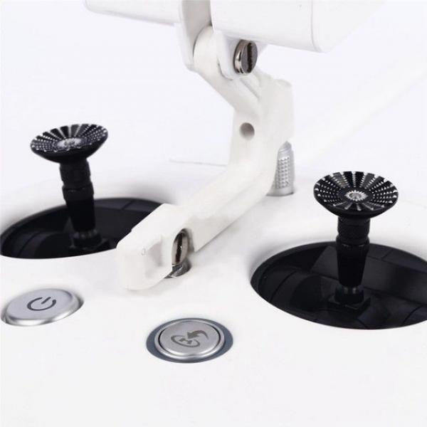 DJI 팬텀4 전용 원형 알루미늄 조이스틱, 블랙
