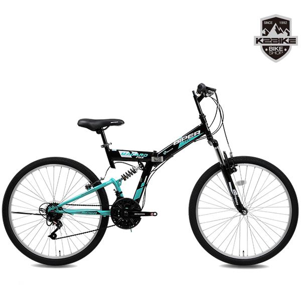 2021 K2BIKE 접이식자전거 메커드FDX 26인치 21단 앞뒤쇼바, 미조립, 메커드FDX(접이식)26인치 블랙+민트