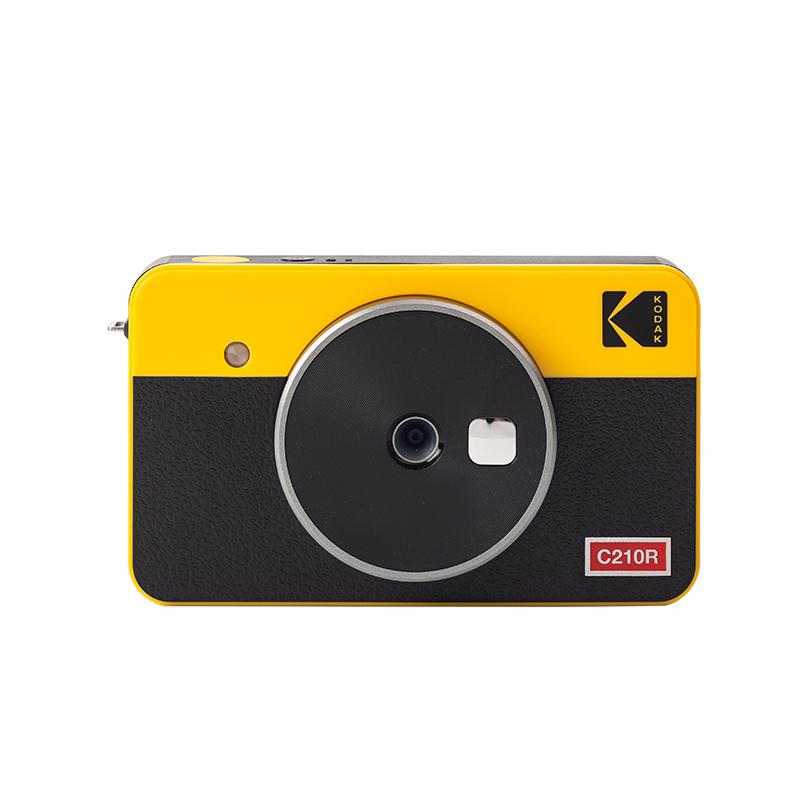 코닥미니샷콤보2레트로 코닥폴라로이드카메라 플로라이드사진기 즉석사진기 코닥폴라로이드 플로라이드 폴라로이드인화 폴라로이드사진기, 옐로우