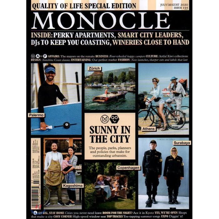 Monocle (월간) : 2020년 07/08월 (Special) : #135 SUNNY IN THE CITY