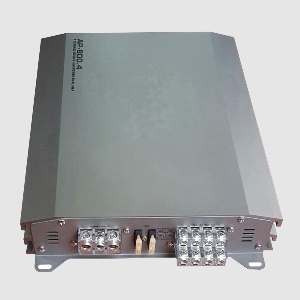 카르마엔터 차량용 4채널/2채널/mono 앰프 자동차 카오디오파워엠프 24V/12V 선박/버스우퍼앰프, 12v차량용(4ch) AP-800.4.12V, 1개
