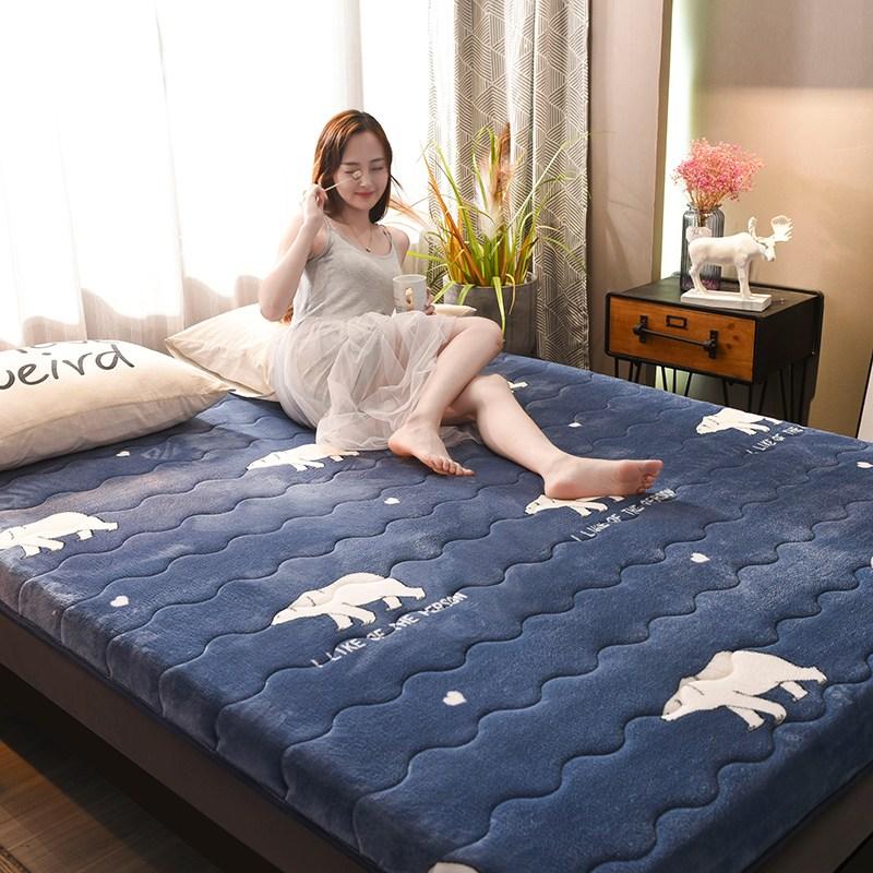 토퍼 템퍼 매트리스 침구 기타 겨울 침대 가정용 쿠션, AL_100 x 200cm