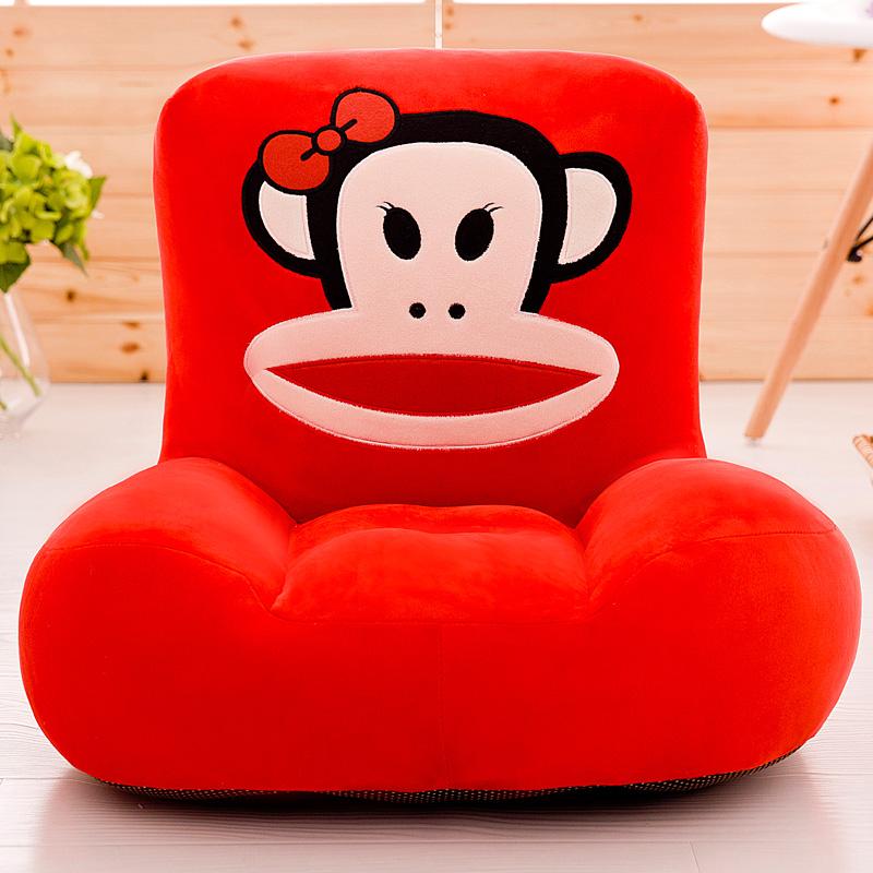 아동 키즈 어린이 주니어 카페 선물 북유럽 스타일 빈백소파 홈 가정용 쇼파 의자 WG201111599Z, 술 에 취한 붉 은 부리 원숭이 업그레이드 호 화 버
