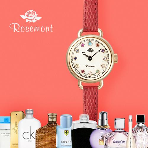 로즈몽 탄생석 RS45-05RD 여성 여자 로즈골드 시계 선물