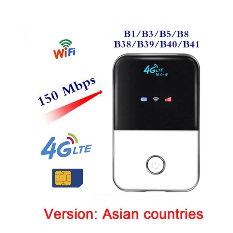 MF903 3G 4G 와이파이 라우터 자동차 휴대용 와이파이 핫스팟 SIM 카드 슬롯 미니 라우터와 광대역 LTE 모뎀 무선 4G 라우터 잠금 해제, 협력사, 아시아 버전
