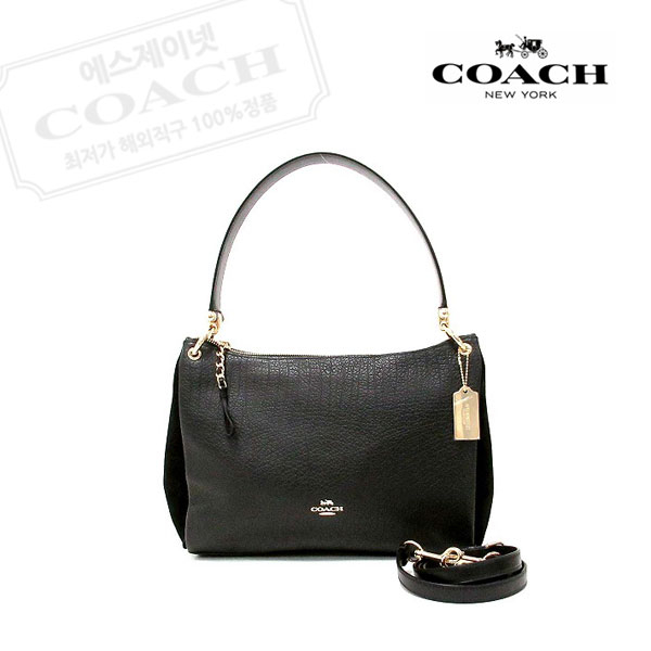 코치 여성 크로스백 F76921 IMBLK