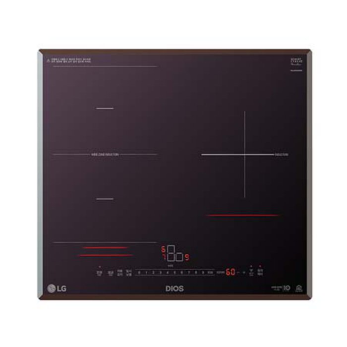 LG전자 3구 인덕션 전기레인지 BEF3MST (85mm), 옵션없음, 옵션없음