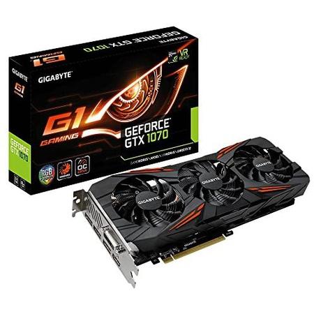 해외1432962 GIGABYTE 기가바이트 지포스 GTX 1070 G1 게이밍 videographics Cards gv-n1070G1 게이밍-8gd, One Color_GTX 1070 G1 Gaming, 상세 설명 참조0, 상세 설명 참조0
