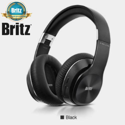 브리츠 W820BT 블루투스 헤드폰 유무선 겸용 폴더형, 블랙-29-1324896559