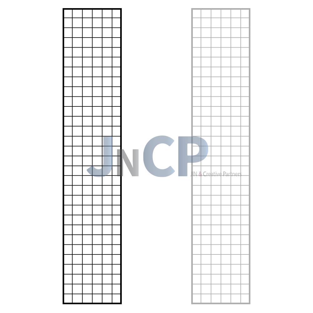 JNCP 휀스망 30x150cm 메쉬망 네트망 철망 악세사리진열대 방묘 후크, 1개