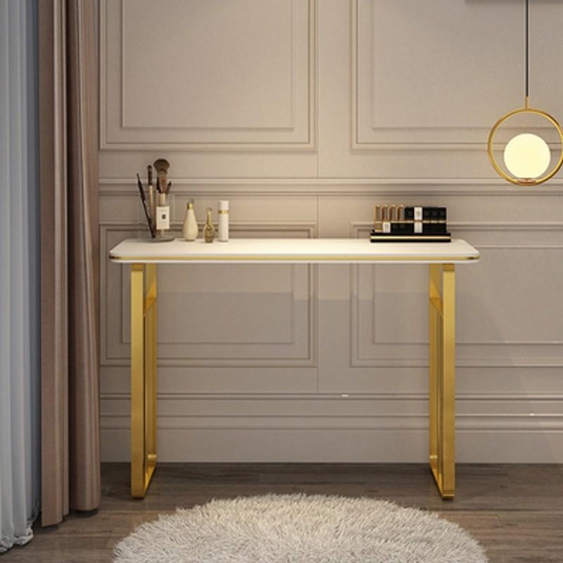 예쁜 화장대 대학생 화장대 화장대 선물 중고등학생 화장대 가벼운 고급 화장대 침실 현대, 전체 의상, 80cm 흰색 싱글 테이블