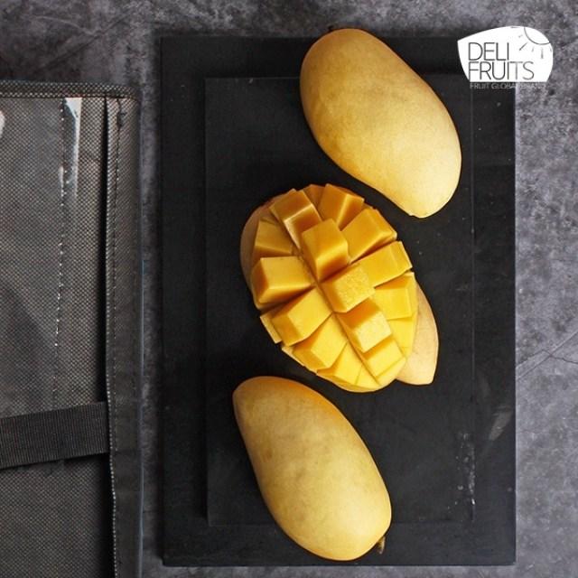 [델리후르츠] 프리미엄 태국 망고 2.9kg 9과 선물세트, 단일상품