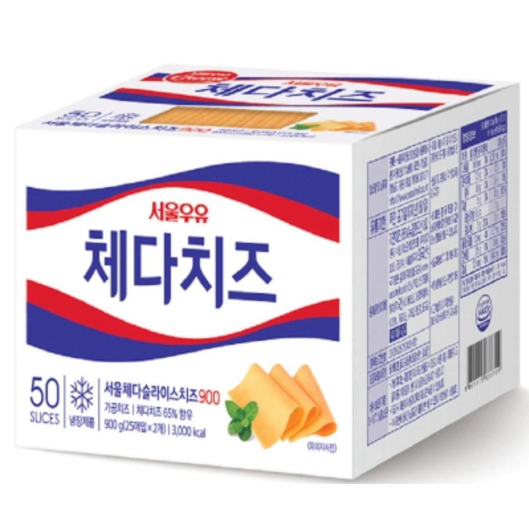 서울 체다치즈 900g/ 450g x 2개로 발송., 900g(450gx2개)