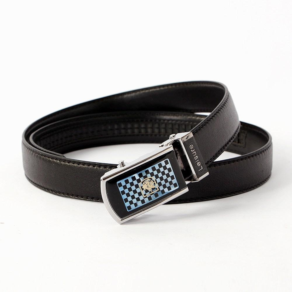(1개) 블랙 젠틀 남성벨트(110cm), 단일상품