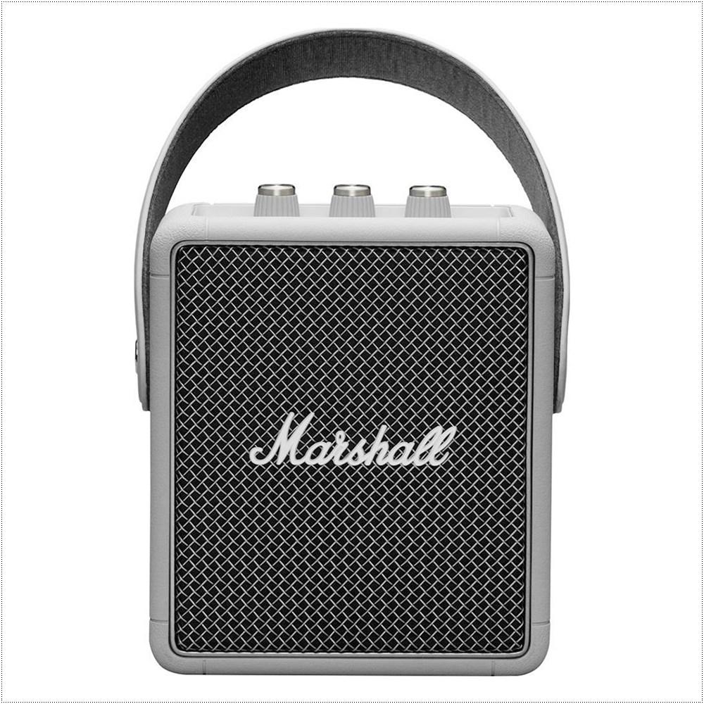 마샬 스톡웰 2 휴대용 블루투스 스피커, Grey, Stockwell II