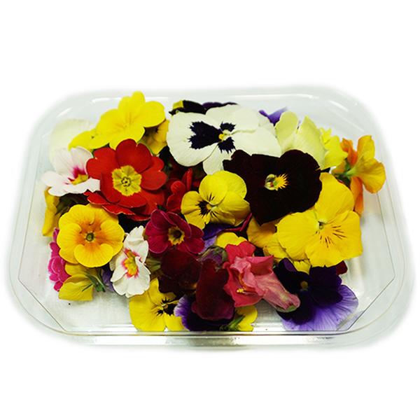 (신선) 꽃세트 30송이 국내산 / 플레이팅꽃 식용꽃, 단일상품