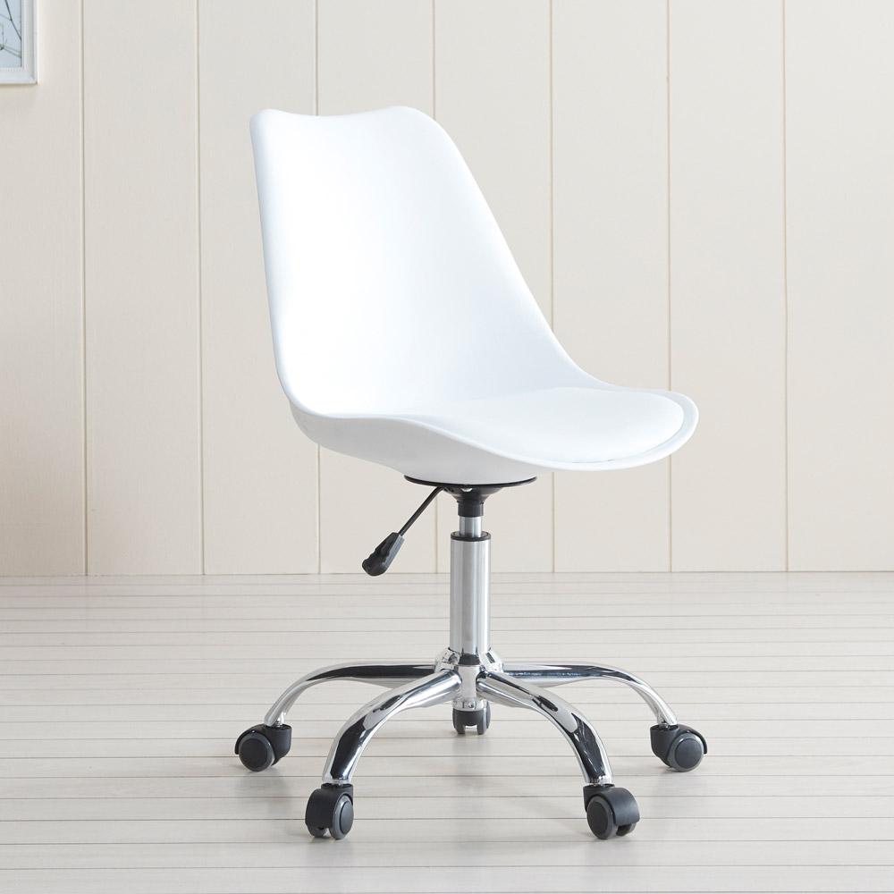프리메이드 에펠의자 회전형 의자, 화이트