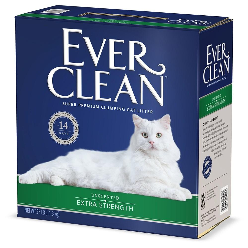 에버크린 ES 언센티드 고양이 모래 무향, 11.3kg, 1개