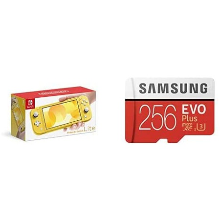 1. 닌텐도 Nintendo Switch Lite イエロ Samsung EVO Plus 256GB microSDXC B08KQBGK27, 옵션 선택_microSD256GB  스위, 상세 설명 참조0, 상세 설명 참조0