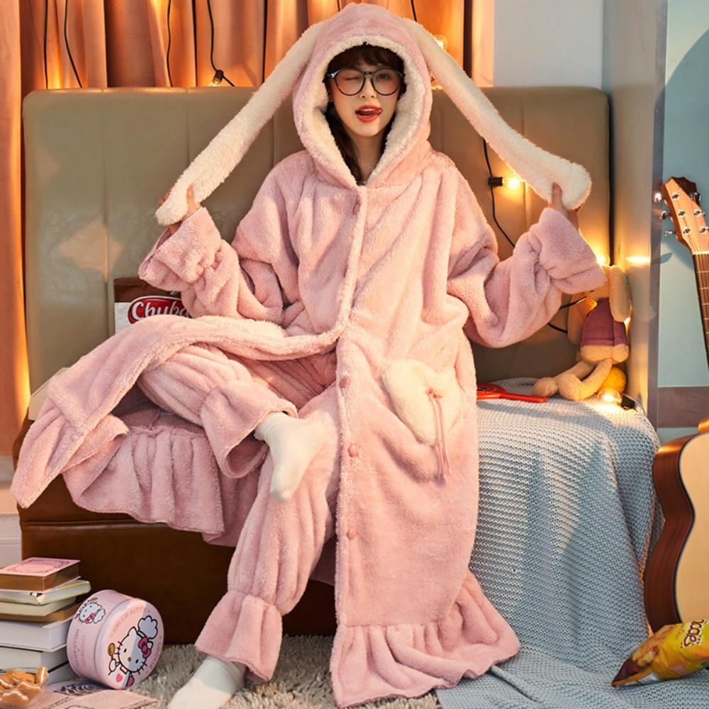 중학생 우정 주니어 임산부 동물 수면조끼 긴팔긴바지 잠옷 파자마
