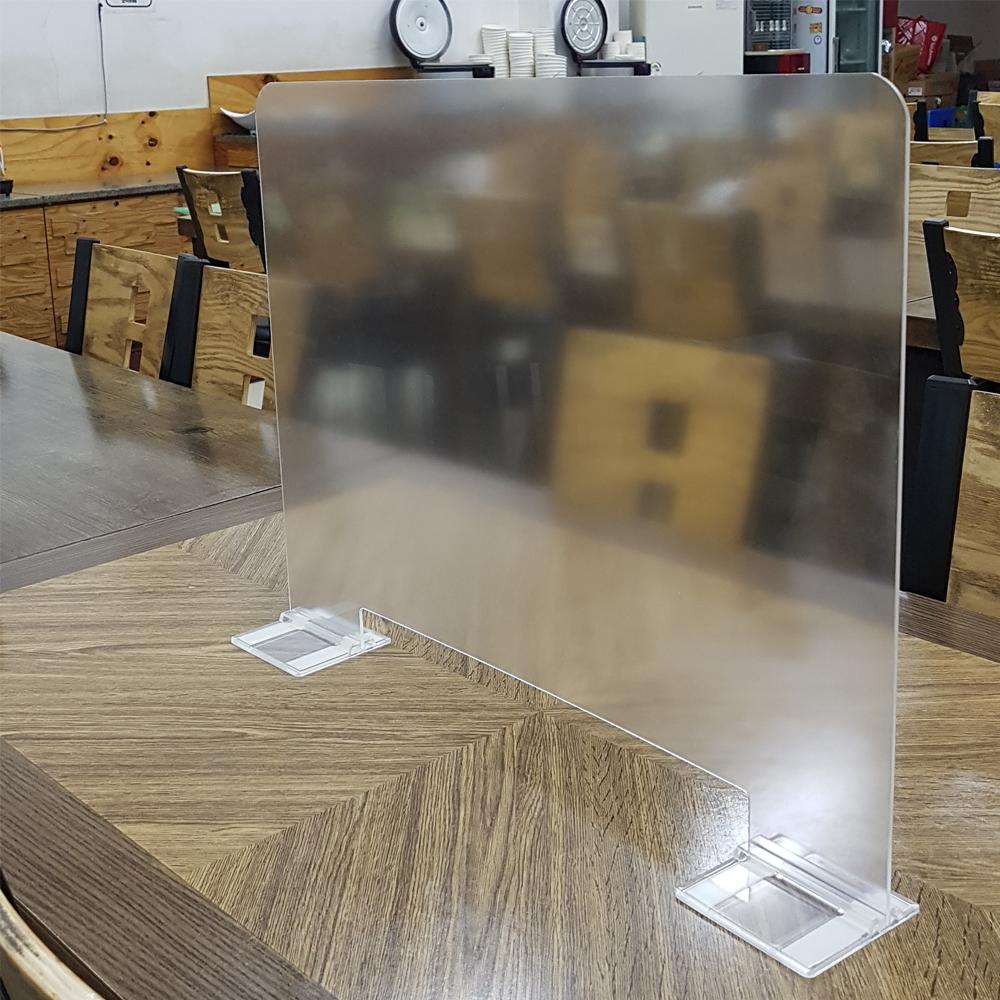 비말차단 반투명 난반사 식당칸막이 아크릴 600x450mm