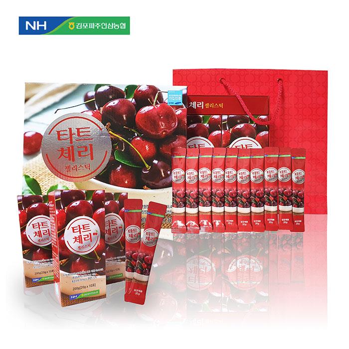 콜라겐 듬뿍 농협 타트체리 젤리스틱 선물세트 건강식품