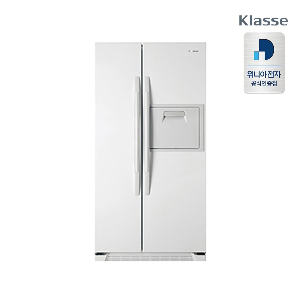 위니아전자 클라쎄 양문형 냉장고 FR-S552SRDWE 550L