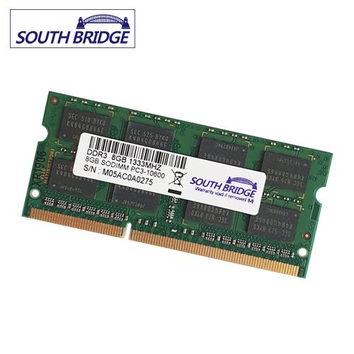 SOUTH BRIDGE 노트북 램8기가 DDR3 PC3-10600 & 12800&저전력12800 새상품 노트북용, 노트북 8기가램 DDR3 PC3-10600 새상품