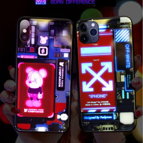 ivvu LED 클럽 케이스 노트 8 9 10 20 플러스 울트라 갤럭시 S10 S20 E 5G