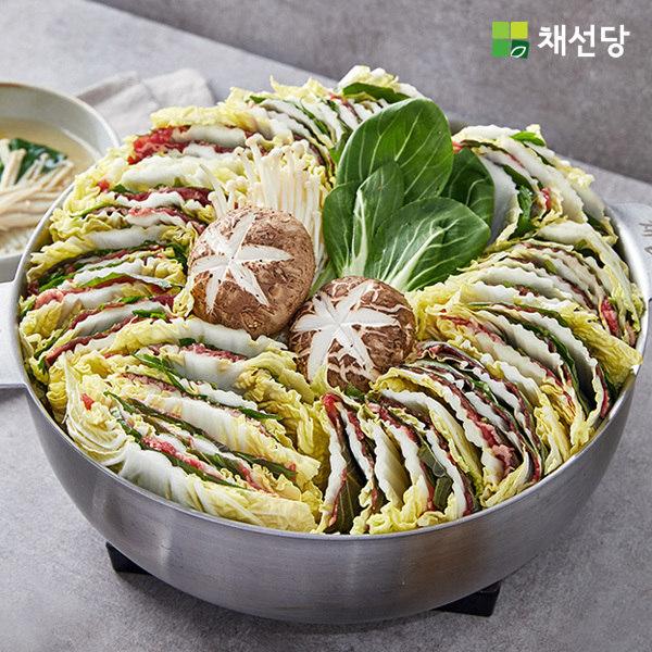 [채선당] 채소와 고기의 환상궁합 밀푀유나베, 상세 설명 참조