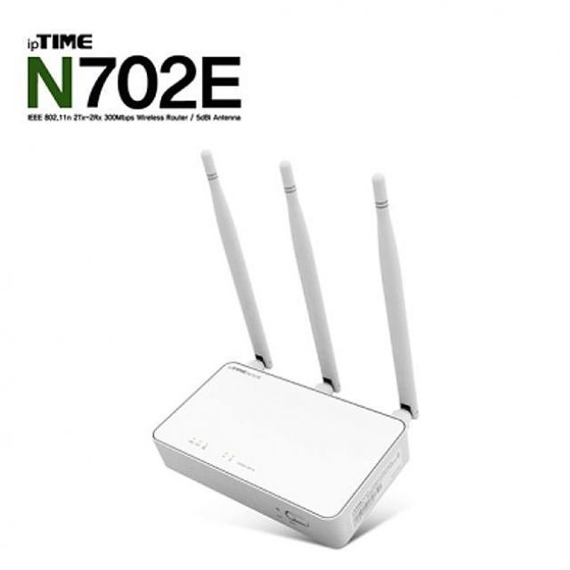 제이에스컴퍼니 아이피타임 N702E 11n 유무선 IP공유기 인터넷 허브 유무선공유기, 해당상품