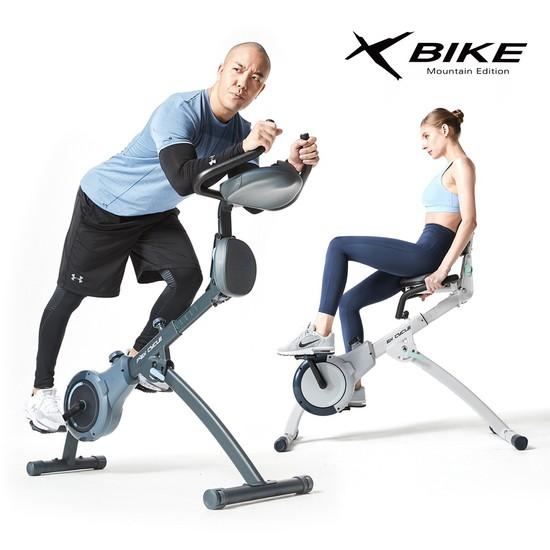 숀리 엑스바이크 마운틴 에디션 스핀바이크 실내자전거, 상세설명 참조, 퍼머넌트 화이트